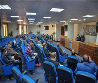 نائب محافظ الإسكندرية يناقش استعدادات استضافة كأس العالم لكرة اليد