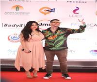 «الفيشاوي» يرفع شعار number 2 في مهرجان القاهرة السينمائي