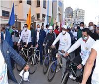 مطروح تنظم ماراثون تحت شعار «متحدون على مكافحة الفساد»