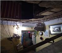 صور وفيديو  إصابة 3 أشخاص في انهيار عقار بالإسكندرية