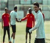 حسين الشحات و«طاهر» ينتظمان في المران الجماعي