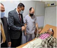 نقل 22 مصابا في حادث قطار بالمنصورة إلى المستشفى الدولي الجديد