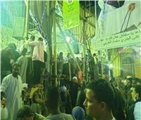 شاهد   «كورونا» لم تمنع «الصعايدة» من الاحتفال بمولد الحسين