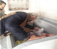 ضبط وإعدام 75 كيلو لحوم غير صالحة في السلام