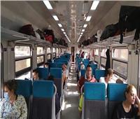 «عملية تجميل» في السكة الحديد.. قطارات جديدة في خدمة المواطنين