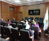دورات تدريبية للعاملين بالشئون القانونية في جامعة بنها