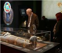 فيديو| المعارض الأثرية في أوروبا «سفير فوق العادة لمصر»