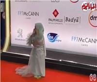 مصممة أزياء قصار القامة على ريد كاربت « القاهرة السينمائي»|فيديو