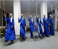 عروض فنون شعبية وكولاج بثقافة المنيا