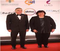 وزيرة الثقافة علي «ريدكاربيد» مهرجان القاهرة السينمائى