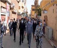 حملة مكبرة لتحقيق الانضباط بشوارع وميادين الأقصر