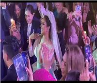 حفل زفاف رنا سماحة بحضور عدد كبير من نجوم الفن | فيديو