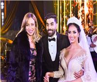 30 صورة من زفاف رنا سماحة.. تامر حسني نجم الحفل