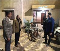 ضبط 20 شيشة فى حملة على المقاهي بمنوف