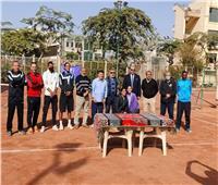 جامعة الإسكندرية تفوز ببطولة التنس الأرضي للجامعات