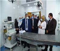 محافظ مطروح يفتتح مستشفى النساء بعد تطويرها بـ ٩ مليون جنيه