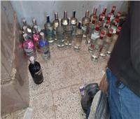 إحباط محاولة تهريب كمية كبيرةمن المشروبات الكحولية بجمارك السلوم