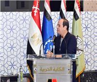 الرئيس السيسي يوجه الشكر لدولة الإمارات على شحنة لقاحات كورونا.. صور