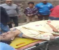 مصرع شخص وإصابة اثنين في انهيار عقار بحدائق القبة صور