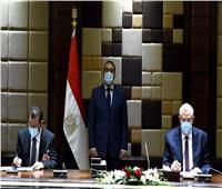 بدء جلسة مباحثات موسعة «مصرية عراقية أردنية» برئاسة رئيس الوزراء