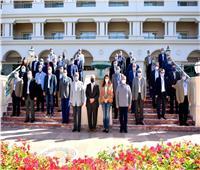 رئيس جامعة السادات يحضر ورشة عمل التعليم الجامعى بالغردقة