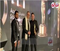 حصول «أحمد زاهر» علي جائزةأحسن ممثل في مهرجان «نجم العرب»