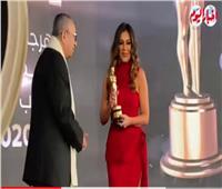 «إنجي المقدم».. أفضل ممثلة دور ثاني بـ«مهرجان نجم العرب»