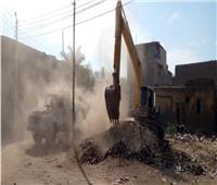 البدء في إنشاء وحدة إطفاء بقرية السلام في الأقصر