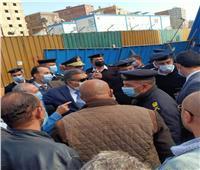 مدير أمن الجيزة يقود حملة مكبرة لتطهير شارع ناهيا من العشوائية