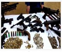 مباحث الجيزة تضبط 64 متهما من تجار الكيف والسلاح