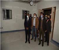 محافظ مطروح يتفقد الأعمال الإنشائية في مستشفى «براني»