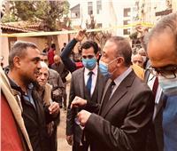 محافظ الإسكندرية يشكل لجنة هندسية لدراسة عقارين متصدعين بمحرم بك