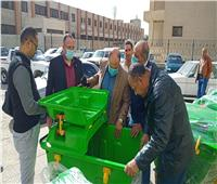 صور  رفع القمامة وتعديل أماكن تجميعها في حي ثالث بالإسماعيلية