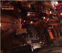 حريق محدود بمستشفى في الإسكندرية.. صور
