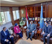 محافظ كفر الشيخ يستقبل وزيرة البيئة لافتتاح مشروعات بالمحافظة