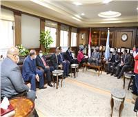 وزيرة البيئة: 100 مليون جنيه لدعم برنامج إدارة المخلفات بكفر الشيخ
