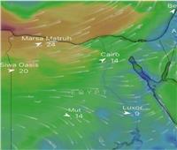الأرصاد تحذر من نشاط الرياح المثيرة للرمال في هذه المناطق