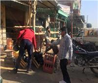 تطهير شوارع وميادين الشرقية من الإشغالات