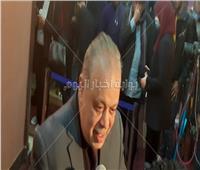 أشرف زكي يفتتح مهرجان المهن التمثيلية للمسرح.. صور