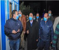 محافظ الإسكندرية يتابع استعدادات التعامل مع سوء حالة الطقس.. صور