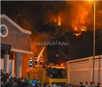 «10 معلومات».. كل ما تريد معرفته عن حريق ميناء الإسكندرية | فيديو وصور