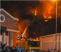 بعد 6 ساعات.. إخماد حريق مخزن ميناء الإسكندرية