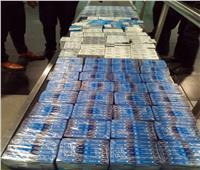 الجمارك تضبط محاولة تهريب كمية من الأدوية البشرية بمطار القاهرة