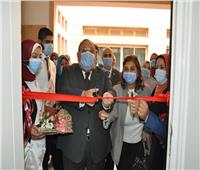 رئيس جامعة حلوان يفتتح مجموعة من المعامل والمراكز البحثية