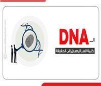إنفوجراف  الـ«DNA» كلمة السر للوصول إلى الحقيقة