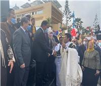 رئيس جامعة مطروح يشارك في احتفالات المحافظة بعيدها القومي