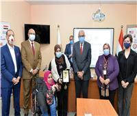 افتتاح مركز خدمات ذوي الهمم بجامعة المنصورة