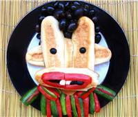 شاهد طعام للأطفال على شكل شخصيات كرتونية .. صور