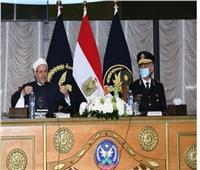 مفتي الجمهورية: جهود «الداخلية» تدعم استقرار الوطن | صور