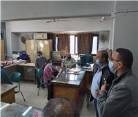 متابعة تطبيق الإجراءات الاحترازية بمديريتي «التضامن والتعليم» في بني سويف